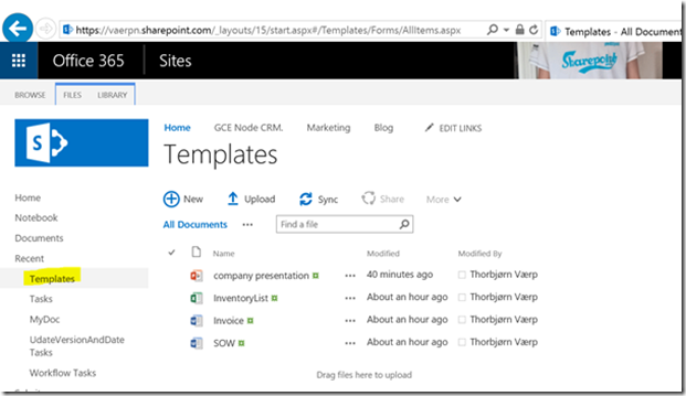 One Place For All Templatesoffice365 Sharepoint13org